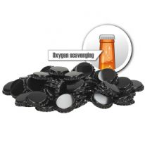 Crown Caps Oxygen Scavenging (100 pack) Black